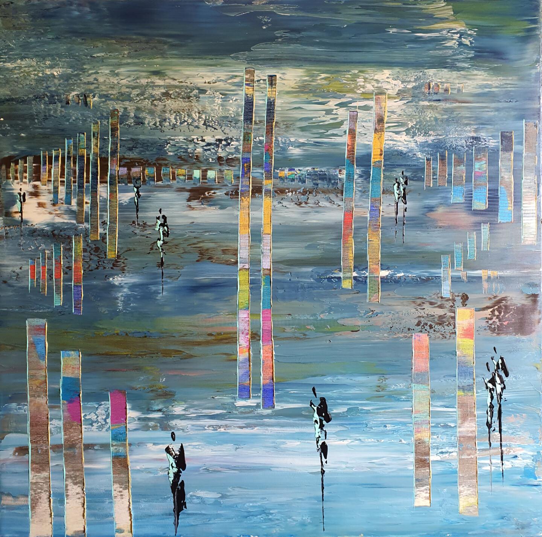 Jean-Humbert Savoldelli - COLORED STICKS